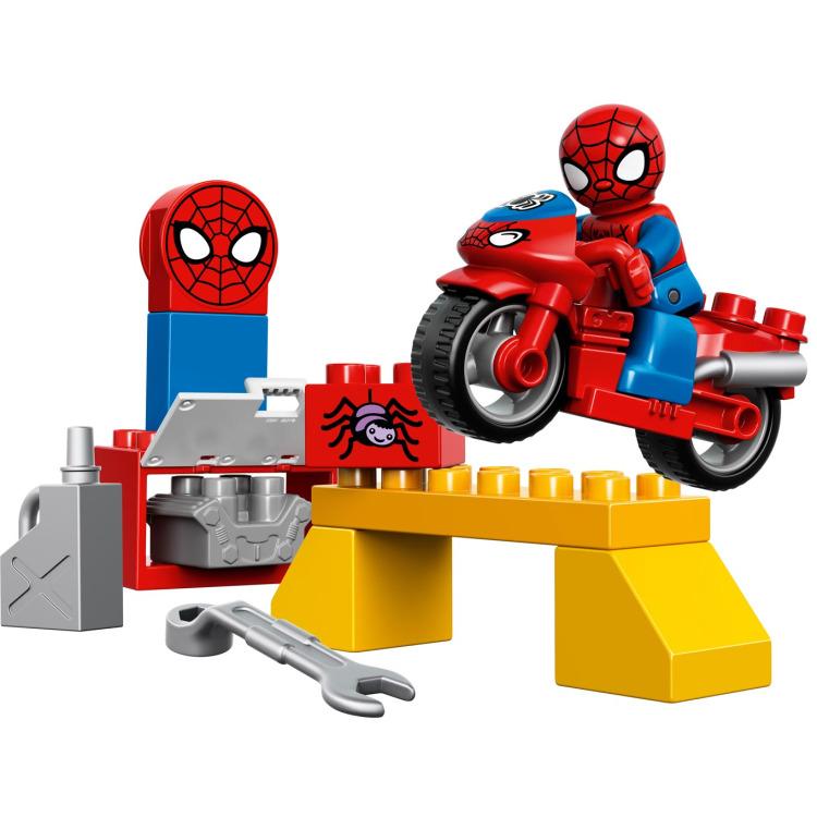 Lego duplo - 10607 spider-man garage