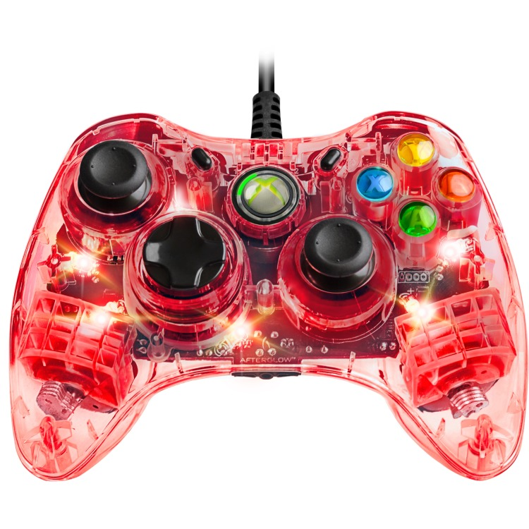 Image of Afterglow - Wired Controller (Rood) Xbox 360