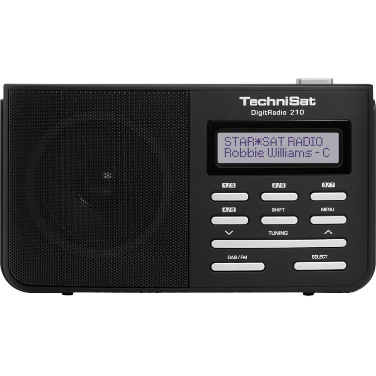 TechniSat Technisat DigitRadio 210 zwart-zilver (0000-4961)