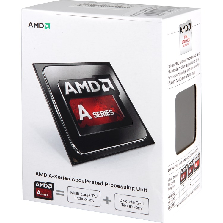 Productafbeelding voor 'A4-7300, 3,8 GHz (4,0 GHz Turbo Boost)'