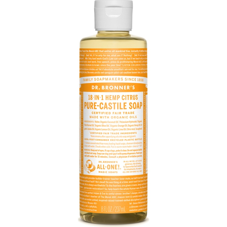 Image of Citrus Pure-Castile Liquid Soap, 237 Ml