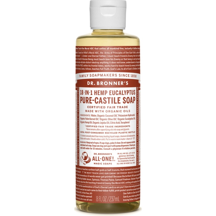 Image of Eucalyptus Pure-Castile Liquid Soap, 237 Ml
