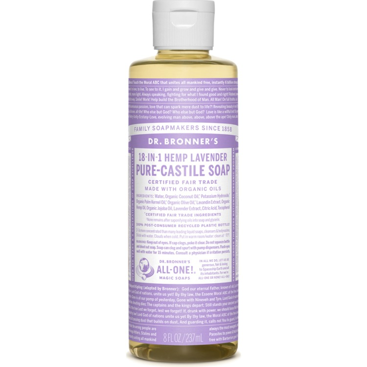 Image of Lavender Pure-Castile Liquid Soap, 237 Ml