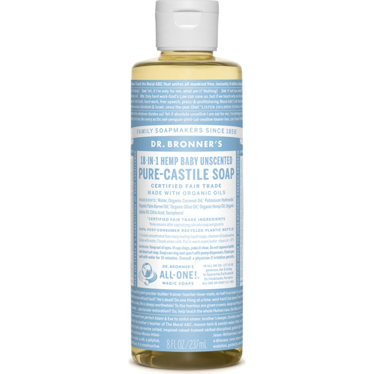 Image of Baby Unscented Pure-Castile Liquid Soap, 237 Ml