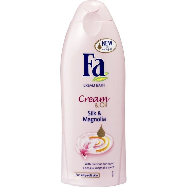 Image of Cream & Oil Silk & Magnolia Cream Bath, 500 Ml