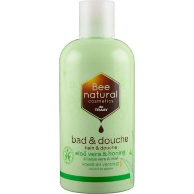 Image of Bee Natural Bad & Douche Aloë Vera/honing, 250 Ml