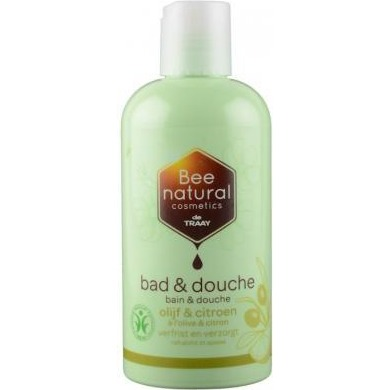 Image of Bee Natural Bad & Douche Olijf/citroen, 250 Ml