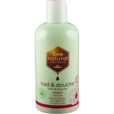 Image of Bee Natural Bad & Douche Rozen, 500 Ml