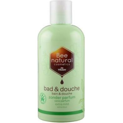 Image of Bee Natural Bad & Douche Zonder Parfum, 250 Ml