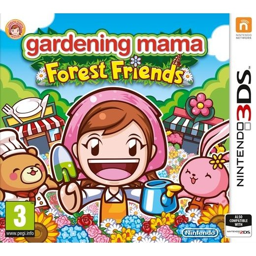Image of 505 Games Gardening Mama, Forest Friends 3DS