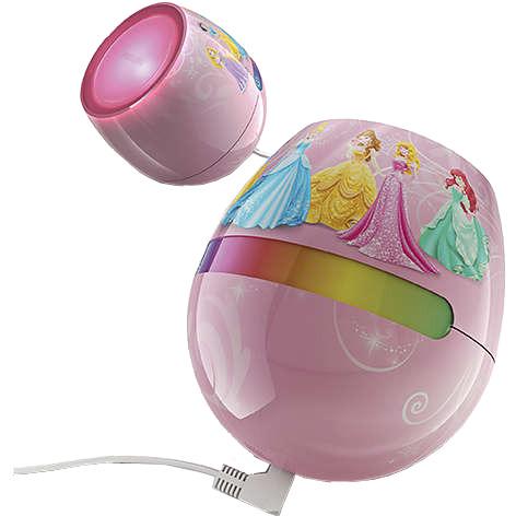 Disney Living Colors Micro Princess tafellamp