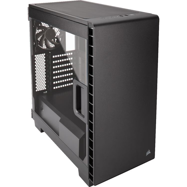 Corsair Case Midi Corsair Carbide 400C black ATX,clear window, USB3.0 (CC-9011081-WW)