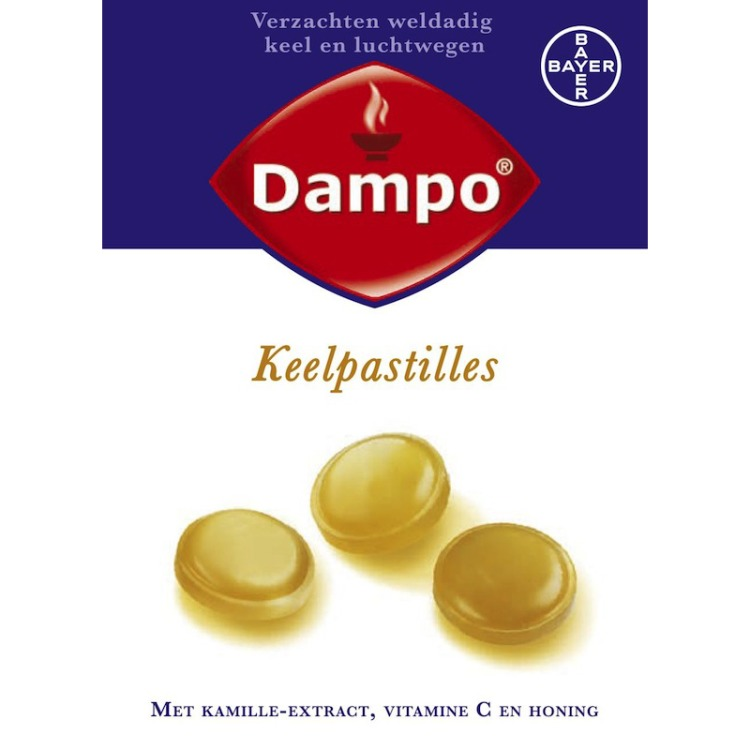 Image of Dampo Keelpastilles, 24 Stuks