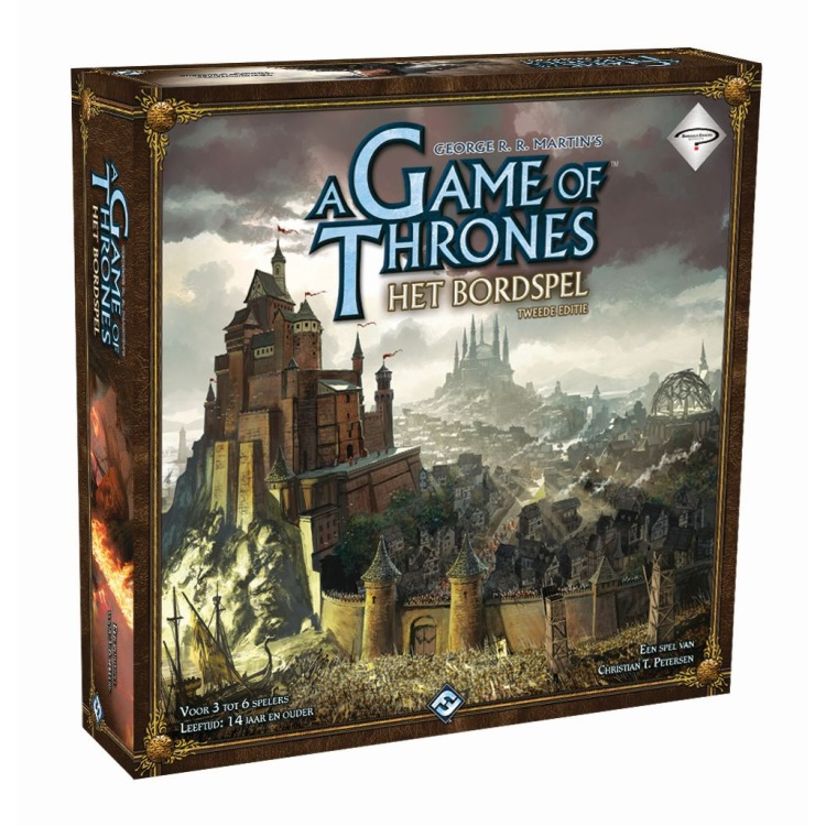 Image of Game of Thrones - Het Bordspel