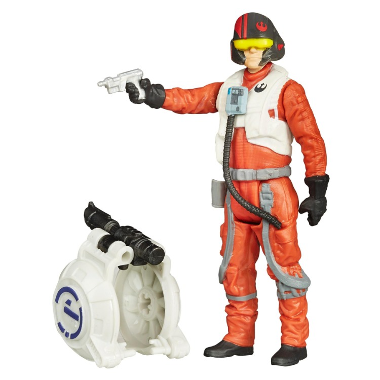 Action figure Star Wars 10 cm Poe Dameron