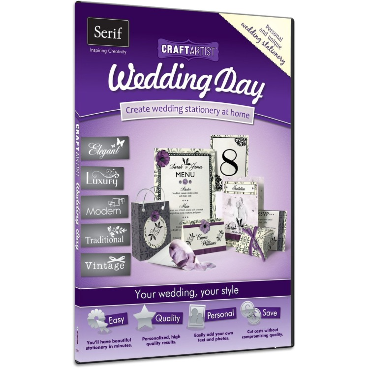 Serif Serif CraftArtist Wedding Day (kf-88683)