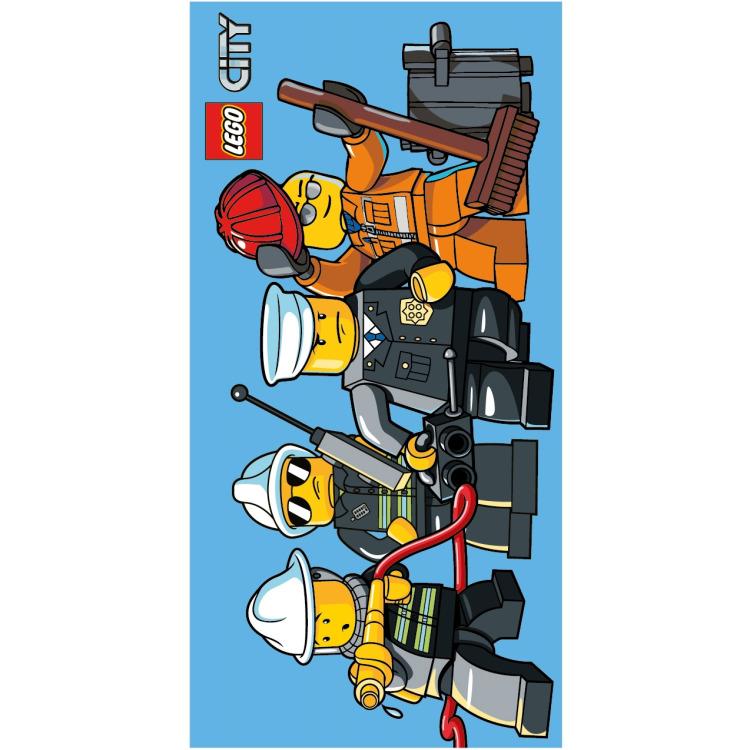 Badlaken Lego City: 70x140 Cm