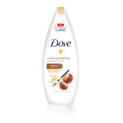 Dove shower purely shea butter
