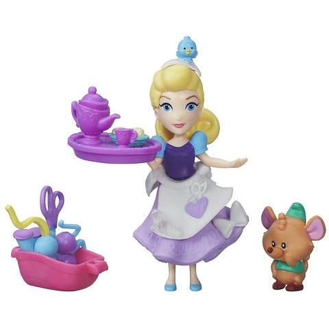 Mini Princess en vriendje Assepoester