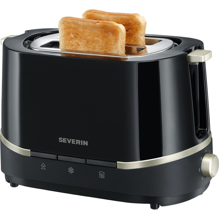 Severin Select AT2290 Broodrooster - Zwart/titaan