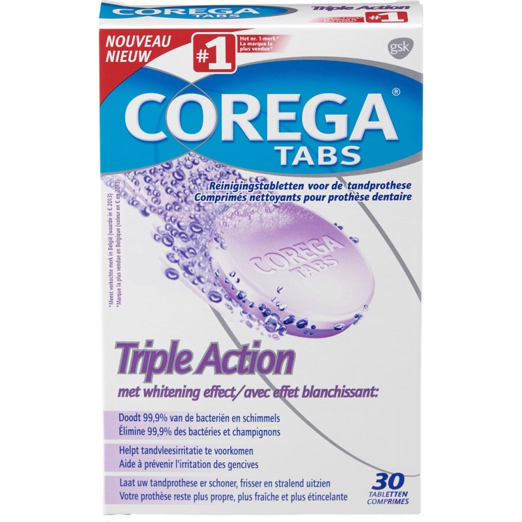 Image of Tabs Triple Action, 30 Tabletten