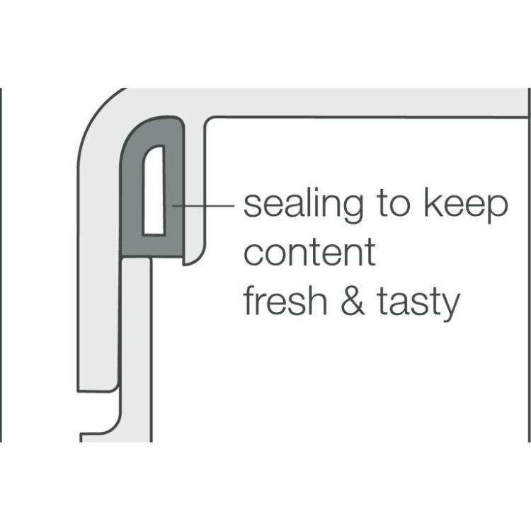 Rosti Mepal Lunchbox To Go midi - Geel