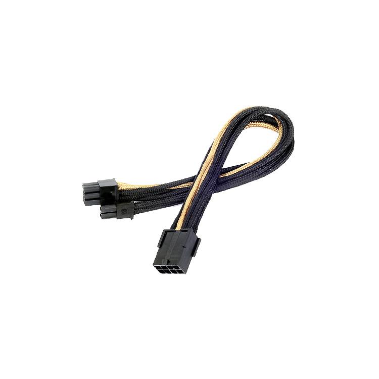 Adapter 8-Polig PCIe > 6+2-Polig PCIe 30cm