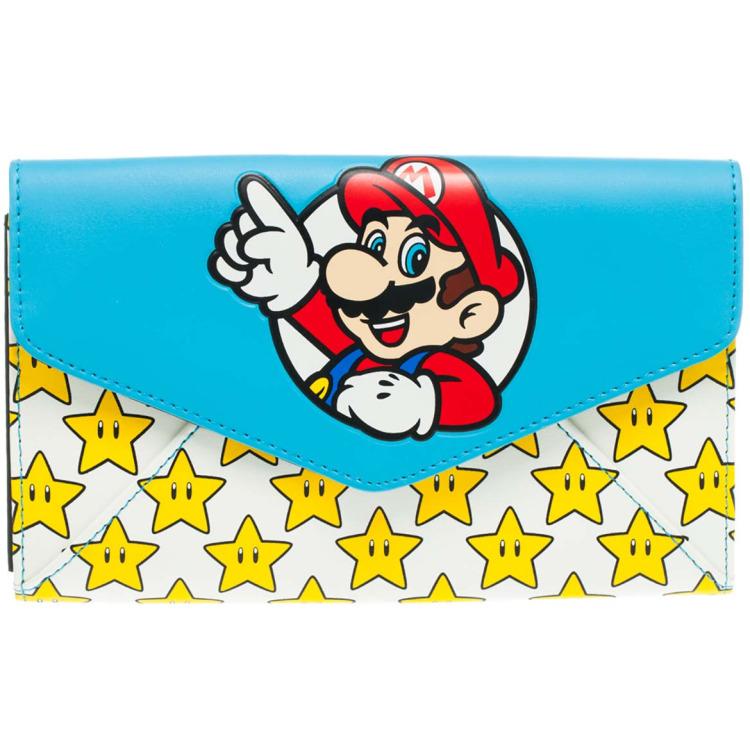 Nintendo Mario & Stars Envelop Portemonnee