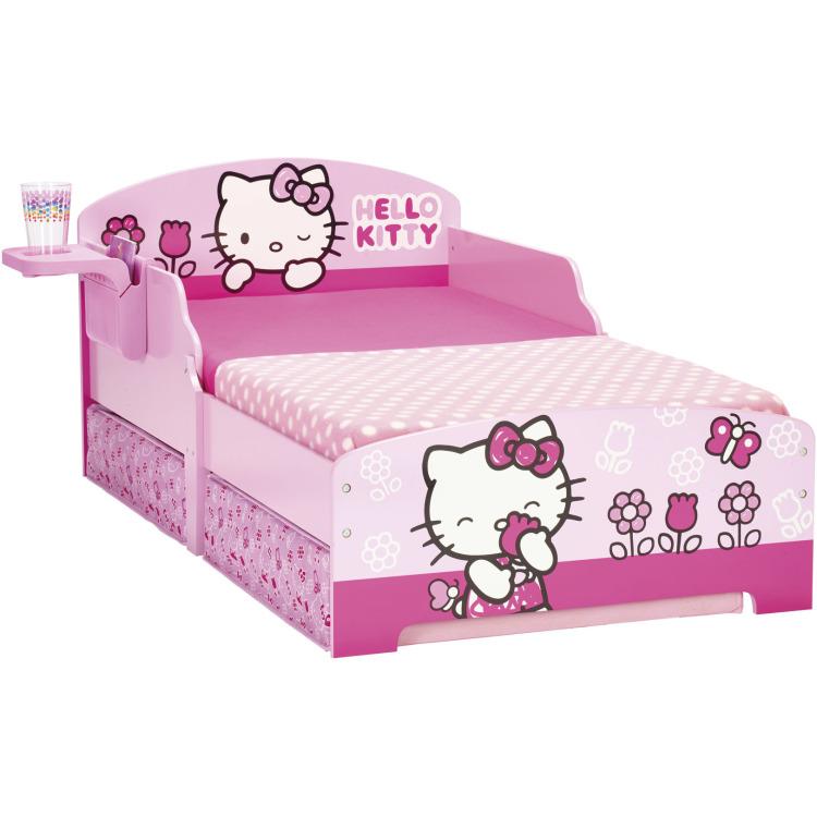 Hello Kitty Junior Bed met Lades - Kinderbed