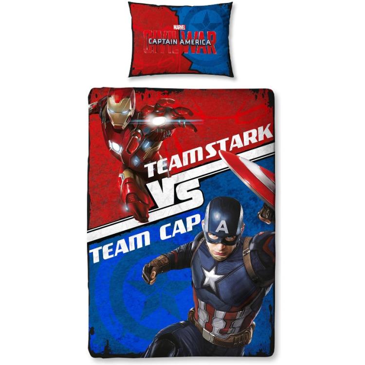 Image of Captain America Dekbedovertrek, 140 X 200 Cm