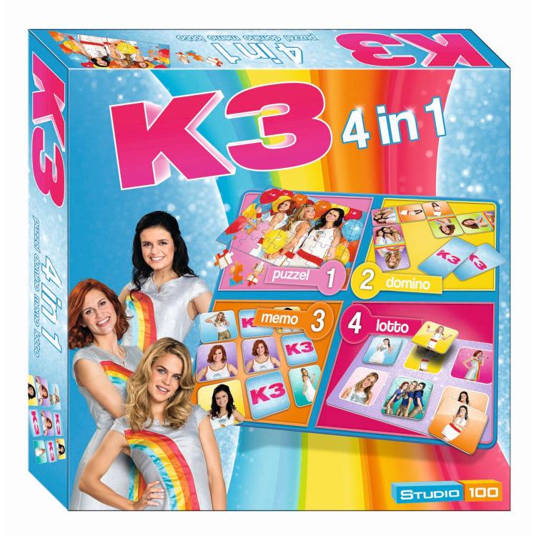 K3 4-in-1 spel