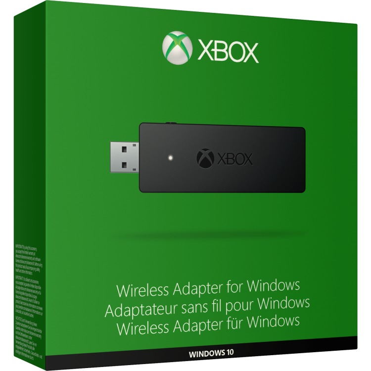 Productafbeelding voor 'XBOX One Wireless adapter for Windows'