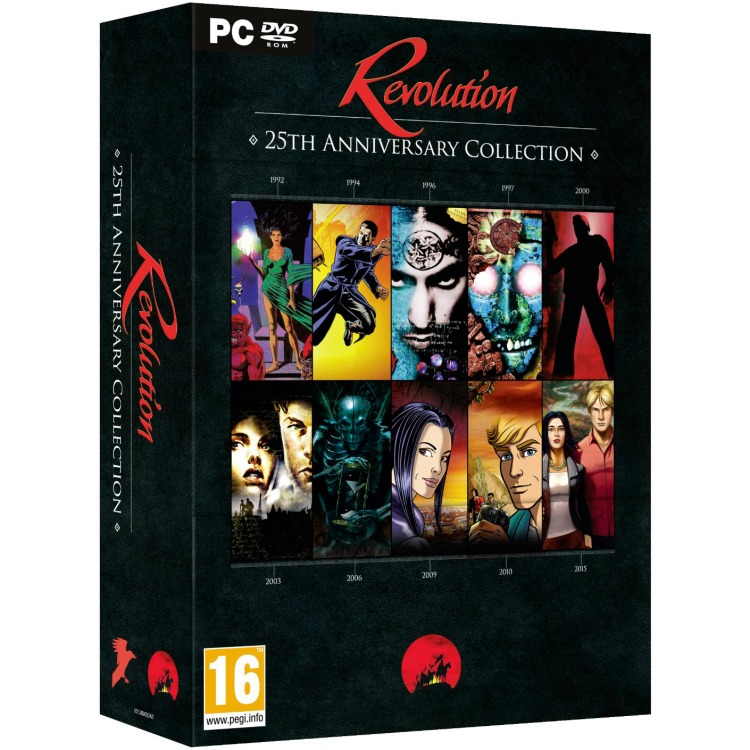 Image of Deep Silver Game Revolution Software 25th Anniversay Anthology PC