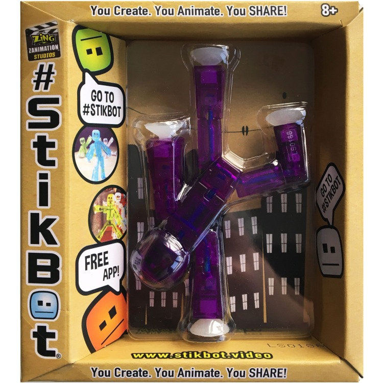 Image of Stikbot Paars