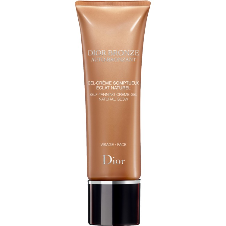 Image of Bronze Self-tanner Natural Glow Face Crème-gel, 50 Ml