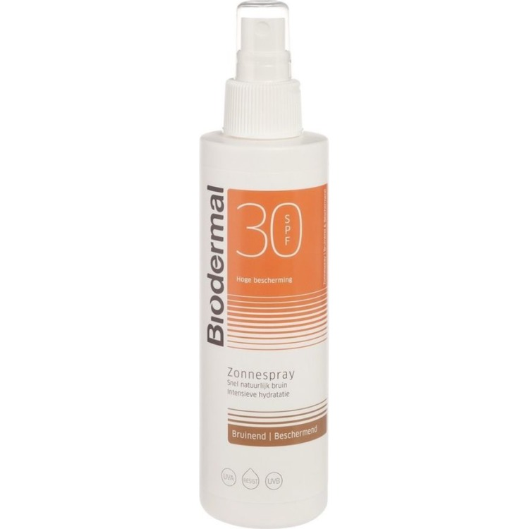Biodermal SPF 30 - 200 ml - Zonnebrandspray