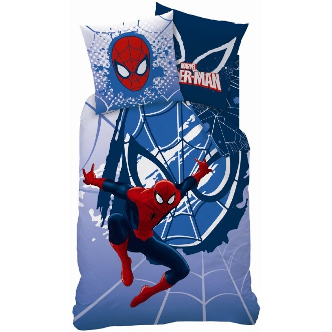 Disney Spiderman Webhead Dekbedovertrek 140 x 200