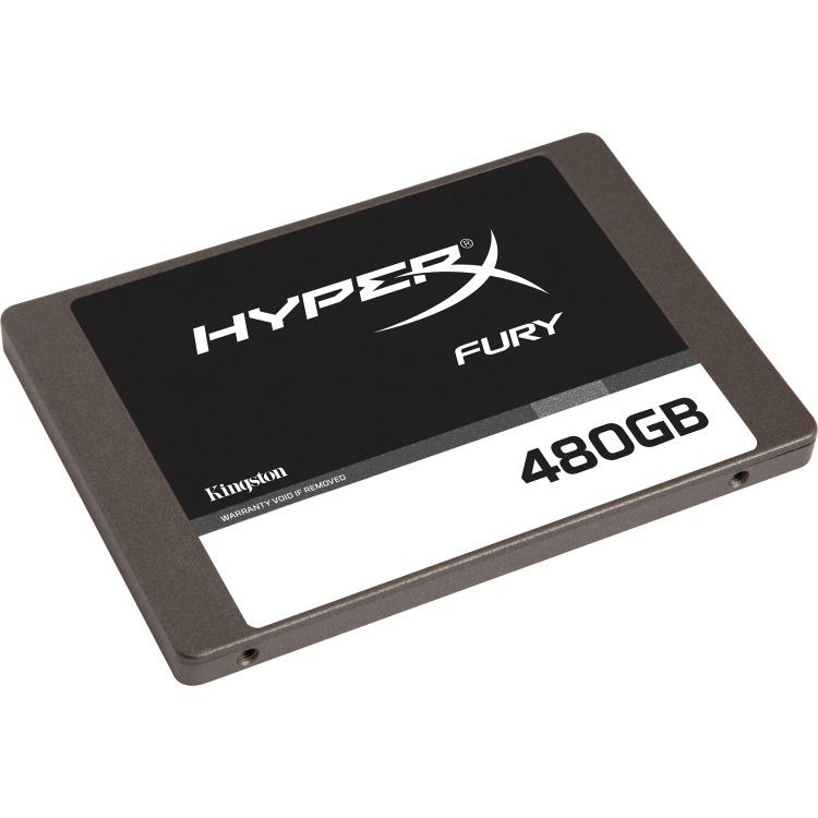 HyperX SSD 2,5 480GB Kingston HyperX Fury r:500MB-s w:500MB-s, SATA III (SHFS37A-480G)