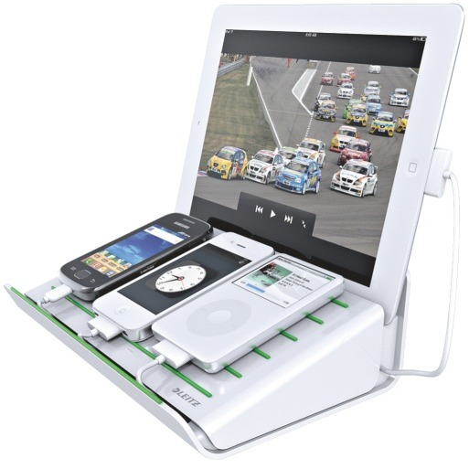 Leitz Multifunctionele Bureaulader Complete iPhone-iPad Wit