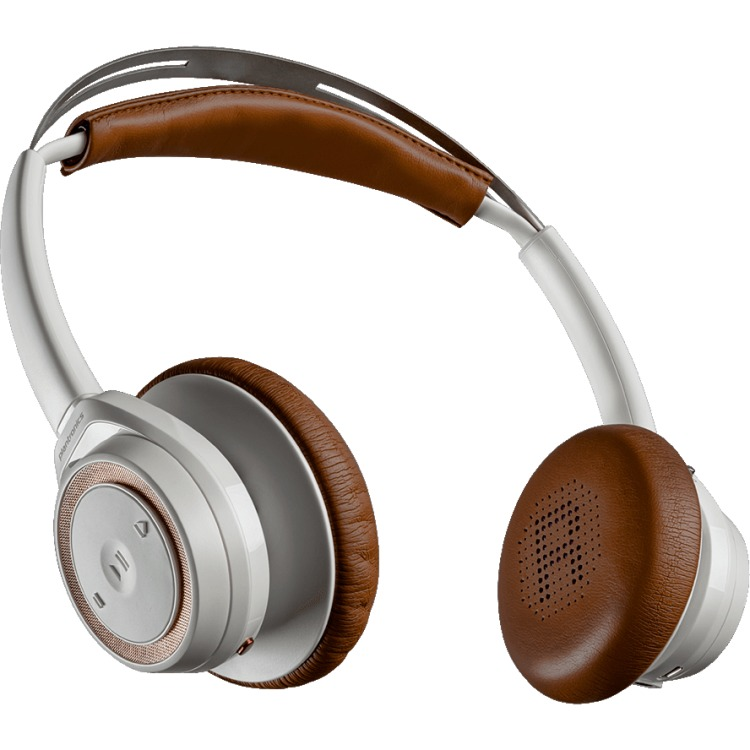 Plantronics Backbeat SENSE white-tan on-ear hoofdtelefoon