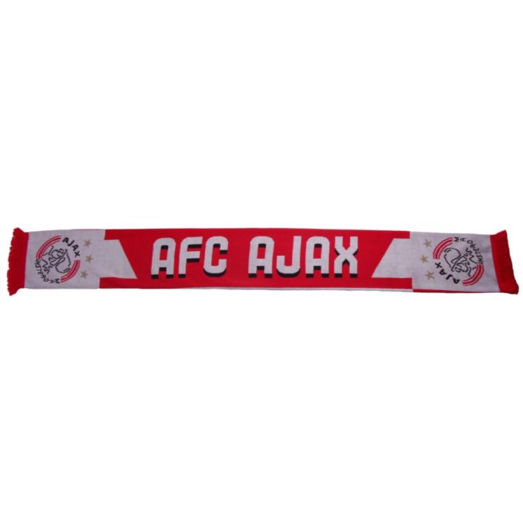 Image of Sjaal Ajax Rood/wit AFC 1900