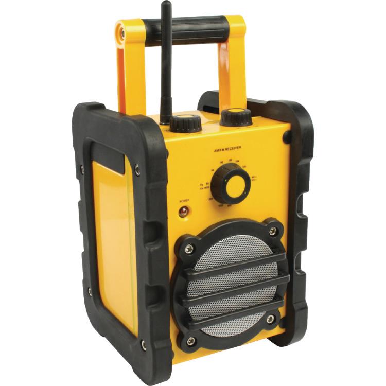 Image of BasicXL HDR10 Robuuste AM/FM Bouwradio