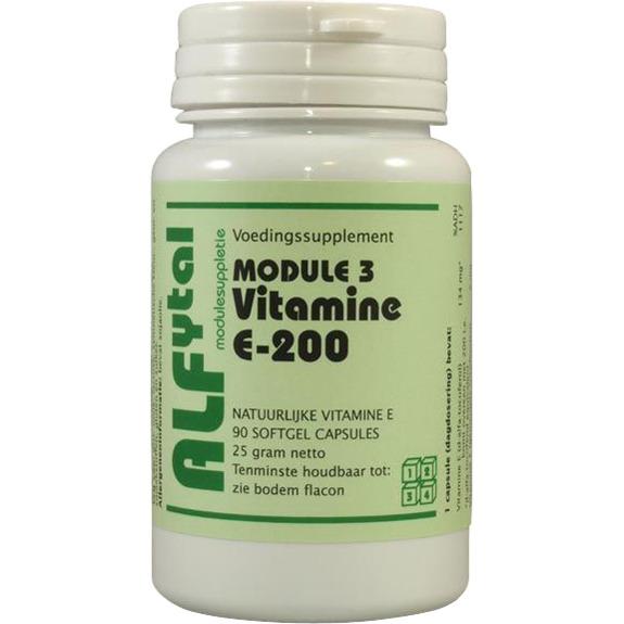 Image of Module 3 Vitamine E-200, 90 Softgels