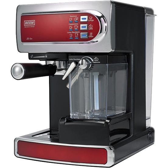 BEEM i-Joy Cafe, rood - Espresso en koffiezetapparaat, 20 bar