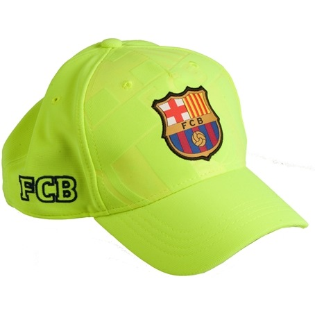 Image of Barc Cap Barcelona Geel Senior: Soccer