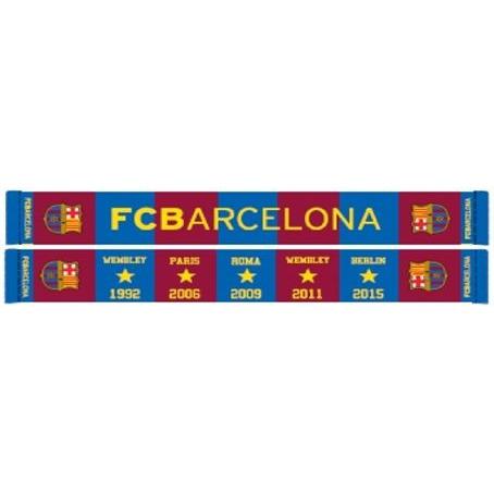 Image of Barc Sjaal Barcelona Rood/blauw Stars