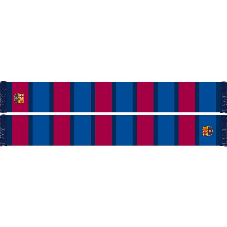 Image of Sjaal Barcelona Rood/blauw
