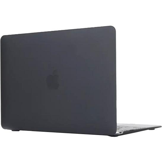 - 'Clip On' Beschermhoes voor Apple MacBook 12 inch (Zwart)