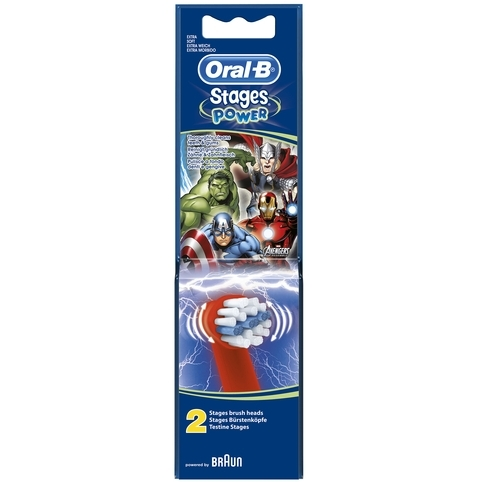 Oral-B Opzetborstel Stages Power Avengers