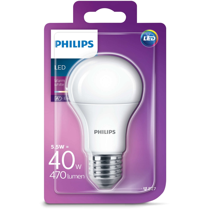 Phi Led A60 Ww Fr Nd 40w E27